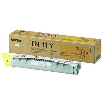 Brother TN11Y Yellow OEM Toner Cartridge - HL-4000CN - (6,000 pages)