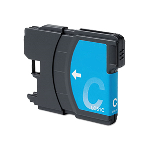Brother LC61C Cyan Premium Compatible Ink Cartridge - MFC 5490, MFC 5890, MFC 6490 - (325 Pages)