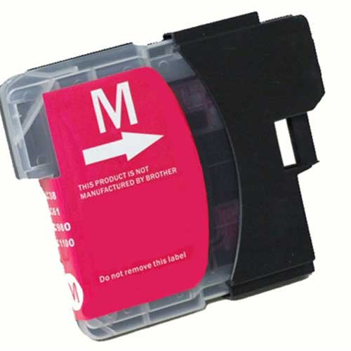 Brother LC65HYM High Yield Magenta Premium Compatible Ink Cartridge - MFC 5890, MFC 6490, MFC 6890 - (750 pages)