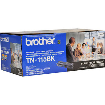 Brother TN115B Black OEM Toner Cartridge - DCP-9040CN, DCP-9045CD series - (5,000 pages)