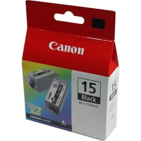 BCI-15 Ink/Tank for Canon i70, i80, i90, Color, 2/Pack
