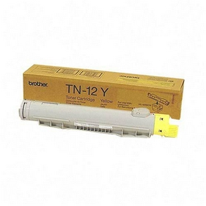 Brother TN12Y Yellow OEM Toner Cartridge - HL-4200CN - (6,000 pages)