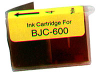 Canon Compatible BJI-201Y BJI201Y 0949A003AA Inkjet Cartridge, 210 Pages, Yellow