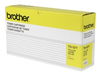 Brother TN02Y Yellow OEM Toner Cartridge - HL3400 Series - (8,500 pages)