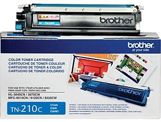 Brother TN-210 Cyan Toner Cartridge OEM