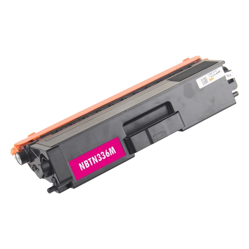 Brother TN336M Magenta Premium Compatible Toner Cartridge - 8350CDW series - (3,500 pages)