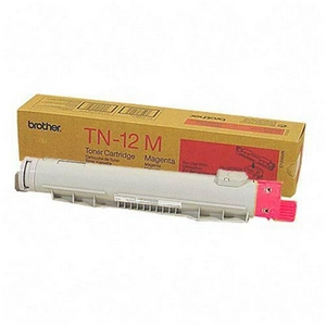 Brother TN12M Magenta OEM Toner Cartridge - HL-4200CN - (6,000 pages)