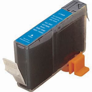 Canon Compatible BCI-3EC BCI3EC 4480A003AA 4480A003 Inkjet Cartridge, 340 Pages, Cyan
