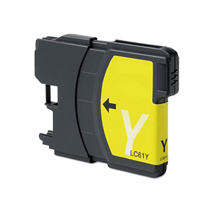 Brother LC61Y Yellow Premium Compatible Ink Cartridge - MFC 5490, MFC 5890, MFC 6490 - (325 Pages)
