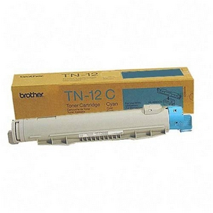 Brother TN12C Cyan OEM Toner Cartridge - HL-4200CN - (6,000 pages)