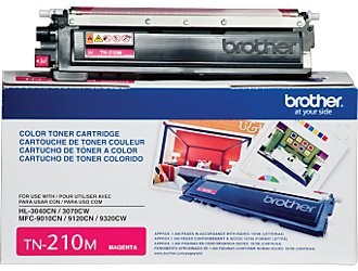 Brother TN-210 Magenta Toner Cartridge OEM