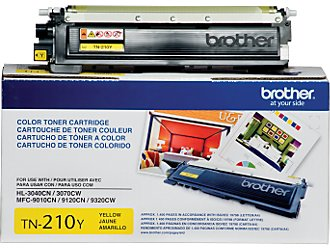 Brother TN-210 Yellow Toner Cartridge OEM