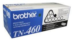 Brother TN460 Black OEM High-Yield Toner Cartridge - DCP-1200, HL-1450, IntelliFax-4100 - (6,500 pages)