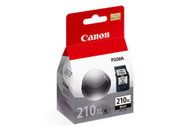 Canon PG210XL High Yield Black OEM Ink Cartridge - PIXMA iP2702 - Ink Tank