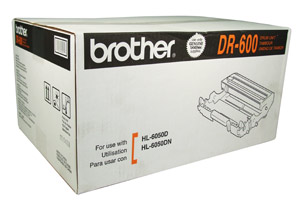 Brother DR600 OEM Drum Cartridge - HL-6050D series- (25,000 pages)
