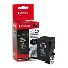 Canon Remanufactured BC-20 BC20 0895A003AA Inkjet Cartridge, 900 Pages, Black