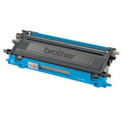 Brother TN110C Cyan OEM Toner Cartridge - HL4040CDN, HL4070CDW series - (1,500 pages)