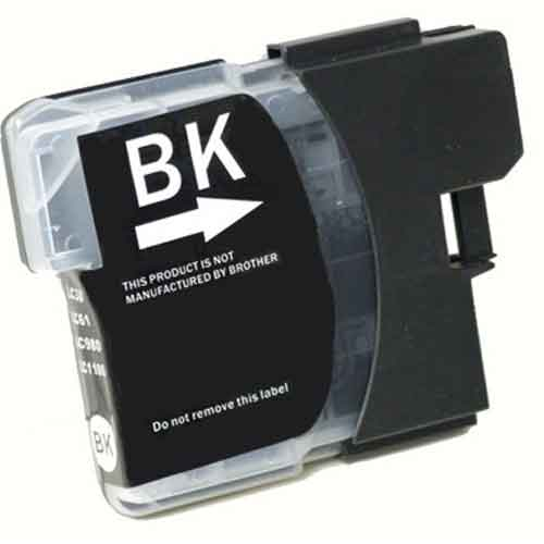 Brother LC65HYBK High Yield Black Premium Compatible Ink Cartridge - MFC 5890, MFC 6490, MFC 6890 - (900 pages)