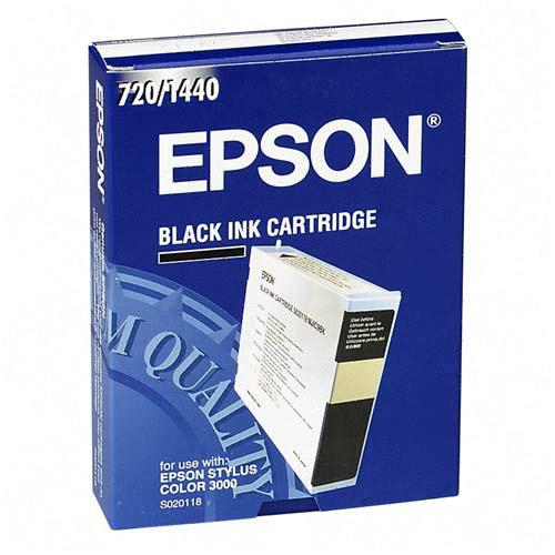 Ink Cartridge for Stylus Color 3000, Pro 5000, Black