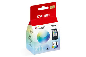 Canon CL211 Color OEM Ink Cartridge - PIXMA iP2702 - Ink Tank
