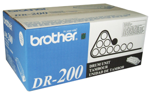 Brother DR200 OEM Drum Cartridge - HL-720, IntelliFax-2600, MFC-2750 - (20,000 pages)