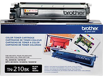 Brother TN-210 Black Toner Cartridge OEM