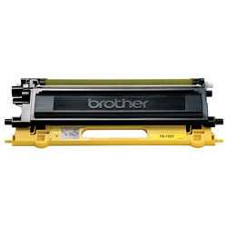 Brother TN110Y Yellow OEM Toner Cartridge - HL4040CDN, HL4070CDW series - (1,500 pages)