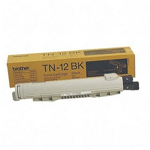 Brother TN12BK Black OEM Toner Cartridge - HL-4200CN - (9,000 pages)