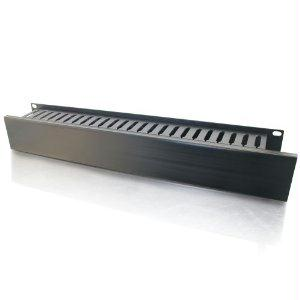 C2g 2u (3.5in) Horizontal Cable Management Panel