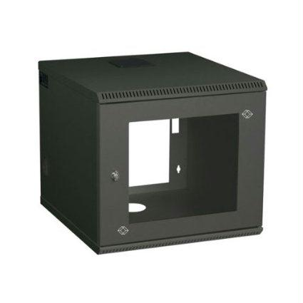 Black Boxwork Services Select Wallmount Cabinet, 6u