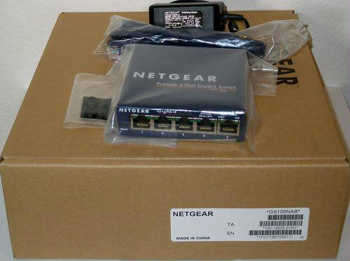 Netgear Netgear Prosafe 8 Port Gigabit Plus Switch
