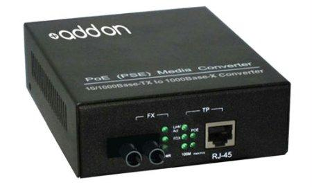 Add-on-computer Peripherals, L Addon 10/100/1000base-tx(rj-45) To 1000base-sx(st) Mmf 850nm 550m P