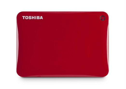 Toshiba America Information Sy Canvio Connect Ii 1tb Red