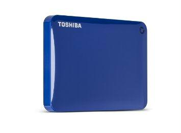 Toshiba America Information Sy Toshiba 2.5 Inch External Hard Drive 1tb Canvio Connect Ii Blue