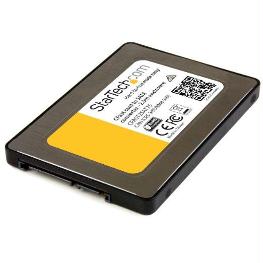 Startech Convert Your Cfast Card Into A 2.5in Sata Drive For Faster Data Transfer - Cfast