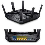 Tp-link Usa Corporation Ac3200 Tri-band Wireless Gigabit Router, Broadcom, 1300mbps At 5ghz Band1+