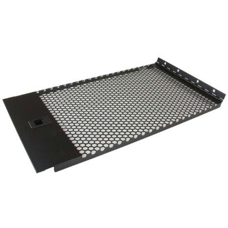 Startech Vented Blank Panel With Hinge For Server Racks - 6u