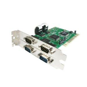 Startech Add 4 High-speed Rs-232 Serial Ports To Your Pc Through A Pci Expansion Slot - P