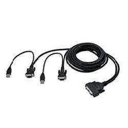 Belkin Components Belkin Omniview Enterprise Series - Keyboard / Video / Mouse (kvm) Cable - 4 Pin