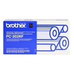 Brother PC-202RF Premium Compatible Thermal Fax Ribbons (2/Pack) - IntelliFax 1170, 1270, 1570,  MFC 1770, 1780, 1870, 1970