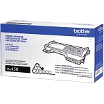 Brother TN450 OEM Black High Yield Toner Cartridge - Brother HL-2220, HL-2230, HL-2240, HL-2240D, HL-2270DW - (2,600 pages)