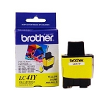 Brother LC41Y Yellow OEM Ink Jet Cartridge - DCP-110C, IntelliFax 1840, MFC-210C - (400 pages)
