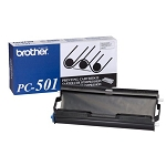 Brother® PC-501 Black Thermal Cartridge