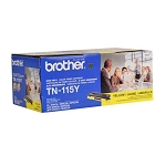 Brother TN115Y Yellow OEM Toner Cartridge - DCP-9040CN, DCP-9045CD series - (4,000 pages)