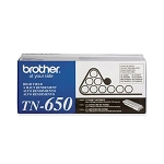 Brother TN650 Black OEM High Yield Toner Cartridge - HL-5340D, HL-5350DN series - (8,000 pages)